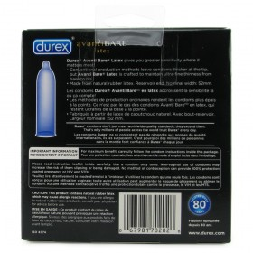Durex Avanti Bare Condoms 24-pack