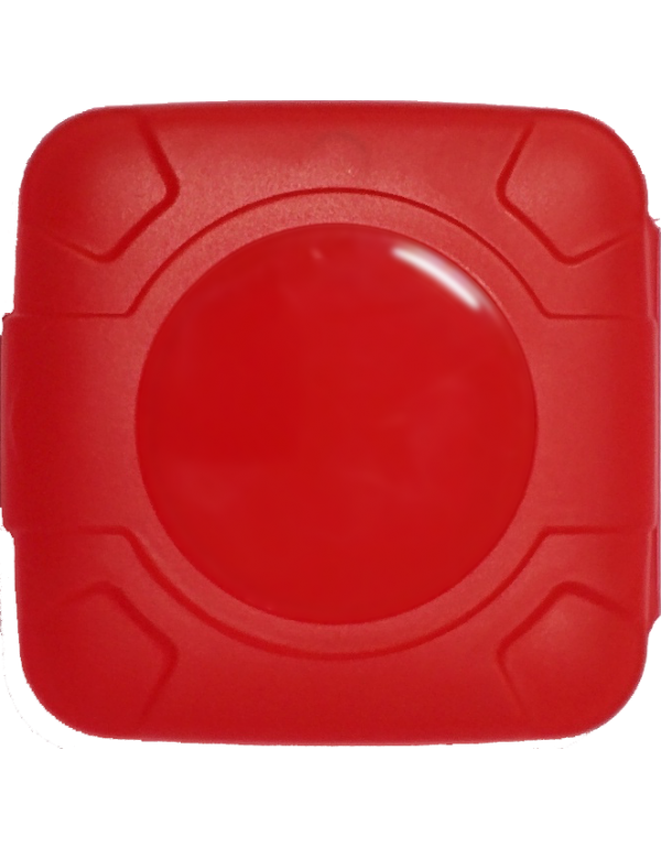 Condom Compact in Red