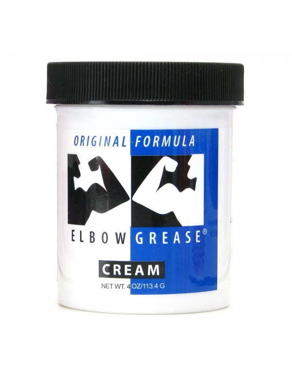 Elbow Grease Original Cream - Oil Based Lubricant in 4oz/113.4g