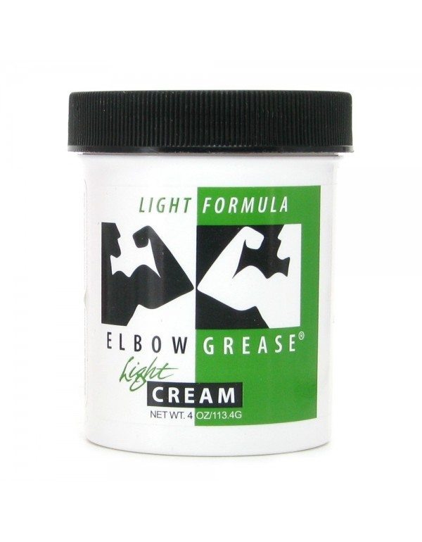 Elbow Grease Light Cream - Oil Based Lubricant in 4oz/113.4g