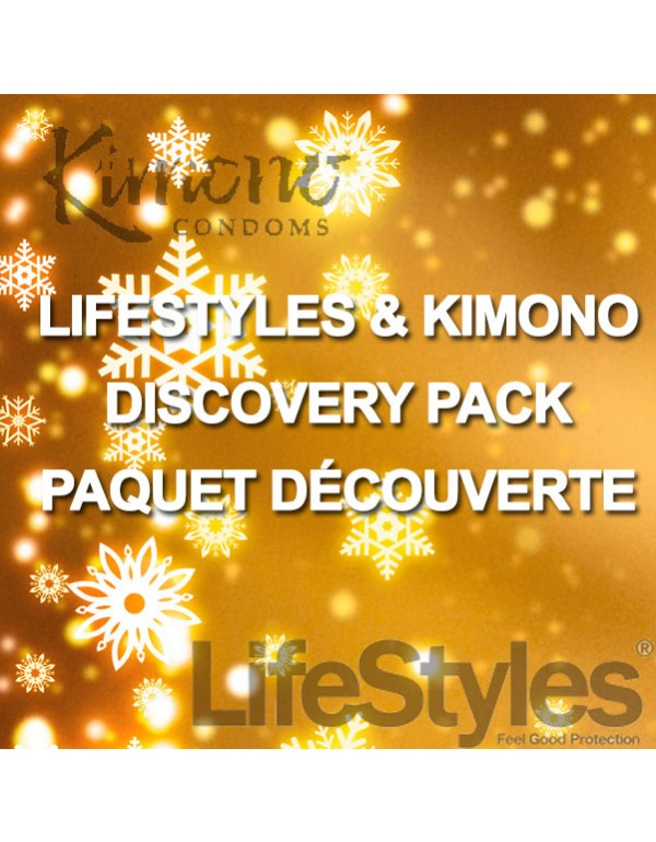 LIFESTYLES & KIMONO Discovery Pack - Holiday Season Super Special (60-Pack)