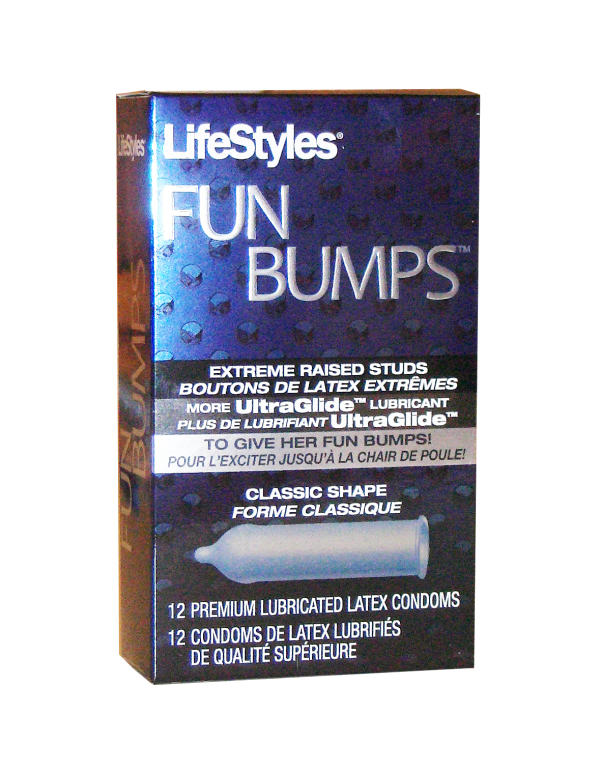 LifeStyles® Fun Bumps Condoms (12-Pack)