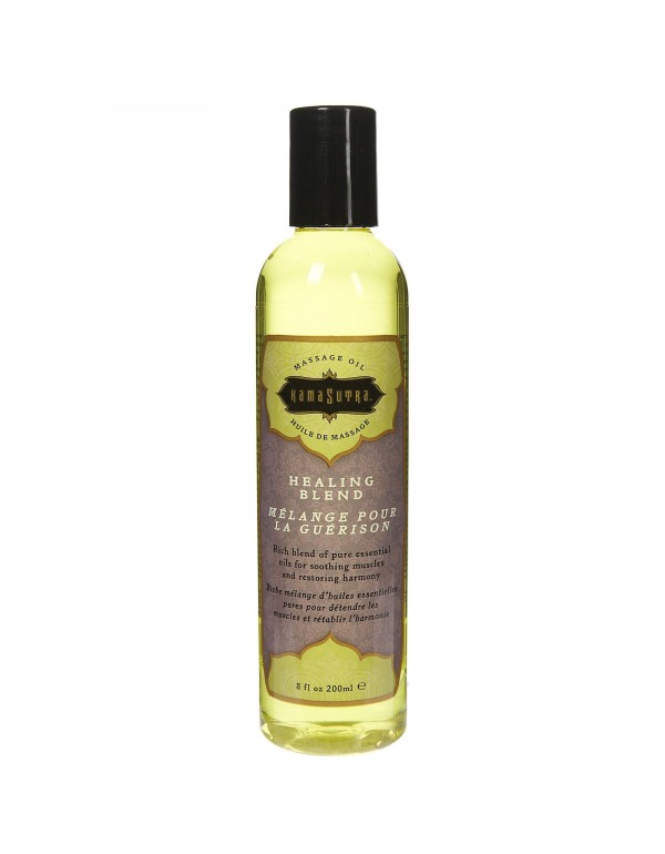 Kama Sutra Massage Oil in Harmony Blend 8oz/200ml