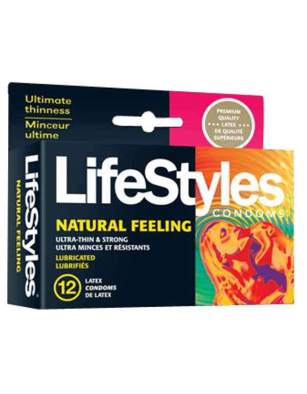 LifeStyles® Natural Feeling Condoms (12-Pack)