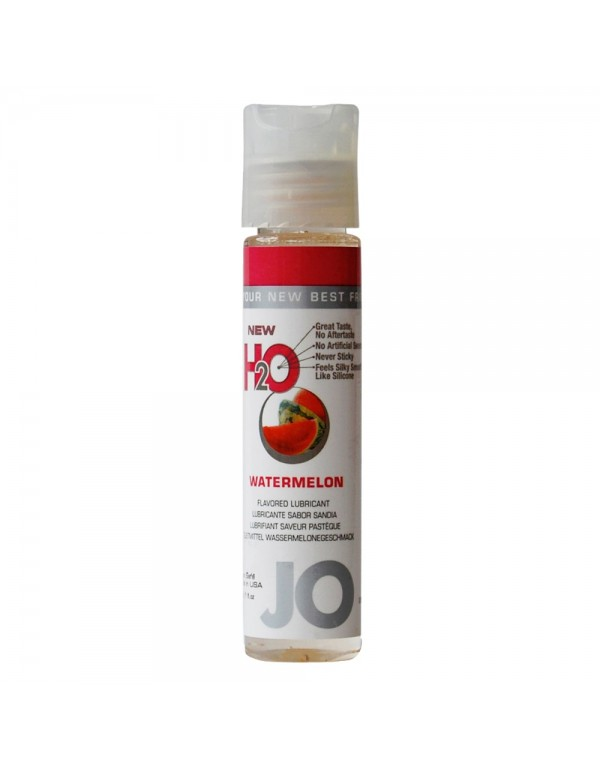 System Jo H2O Watermelon  Flavored Lubricant 1oz/30ml