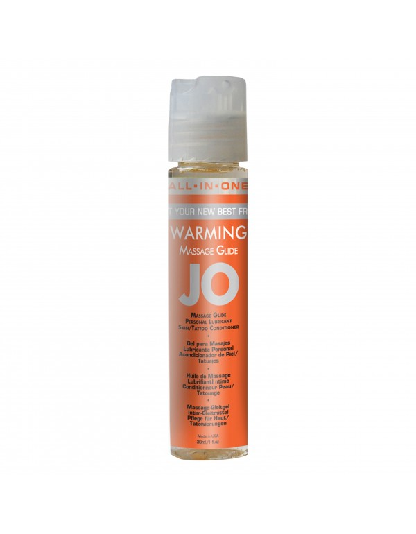 System Jo All in One Warming Massage Glide in 1oz/30ml