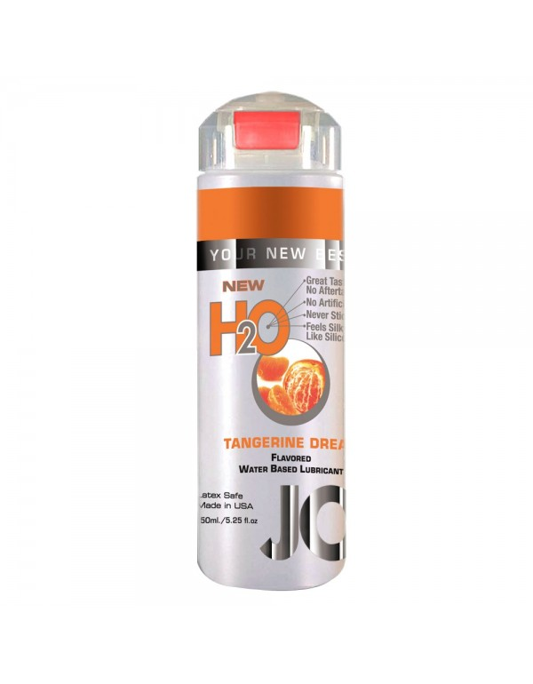 System Jo H2O Tangerine Dream Flavored Lubricant in 5.25oz/150ml