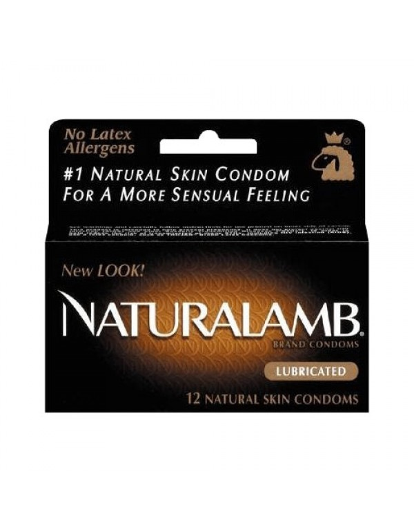 Trojan Naturalamb Condoms 12-pack