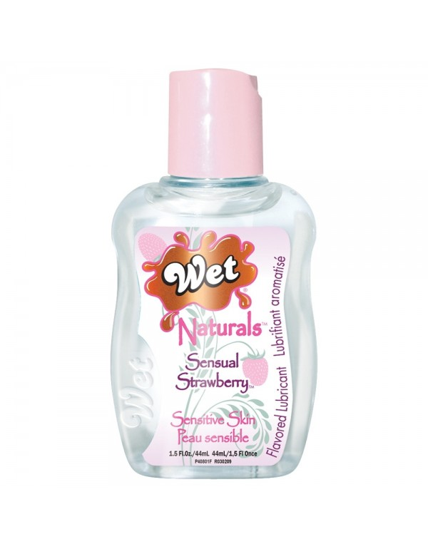 Wet Naturals Body Glide 44ml in Sensual Strawberry