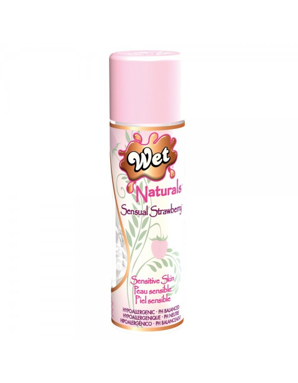 Wet Naturals Body Glide 3.1oz/92ml in Sensual Strawberry