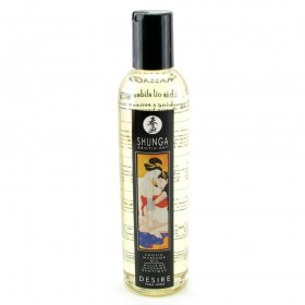 Shunga Erotic Massage Oil 8oz/250ml in Desire