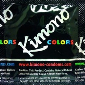 Kimono Thin Lubricated Condoms