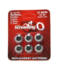 Screaming O - AG13 / LR44 Replacement Batteries 6 Pack