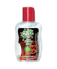 Wet Fun Flavors 4-in-1 Massage Lubricant in Watermelon Blast 1.5oz/44ml