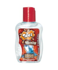 Wet Warming Gel Lubricant in 1.5oz/44ml